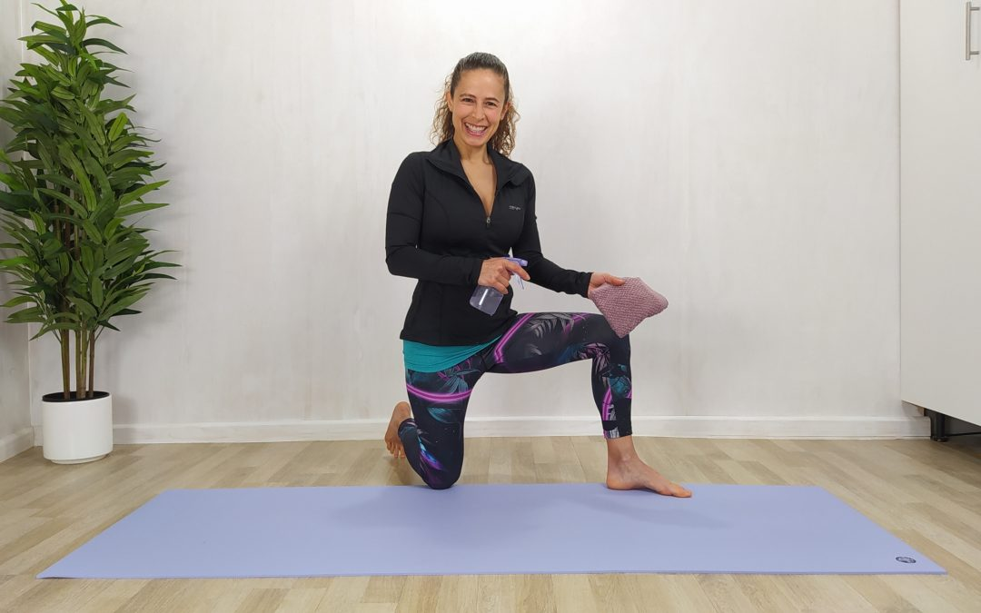 How to keep your yoga mat clean?